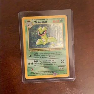 1995 Victreebel holo pokemom card